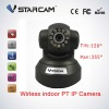 P2P PTZ Cheap Wireless Micro Robot IP Camera