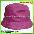 plain bucket hat BH0052