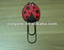 Animal soft pvc bookmark
