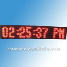 2.3 inch 6 digit led digital wall clock 1.5 inch led digital clock circuit module with temperature, date display