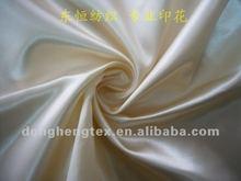 100% Polyester White Satin Drill Fabric Textiles