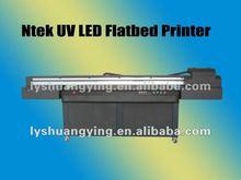 white ink uv flatbed inkjet printer printing on glass YC-2030
