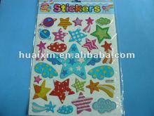 Good quality Star design 3D sticker