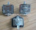 Stainless steel t bar handle lock