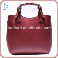 2012 hot seller star new lady leather tote bag