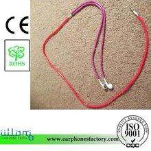 EAR1645 Beatiful Earphone Cord With Colorful Tube Cover
