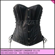 Fashion corsets and bustier,Hot sexy summer xxxl sexy leather corset