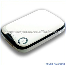 5500mah portable charger for iphone and all smartphonts