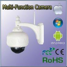 Full 720P or 1080P Megapixel waterproof Half Dome ip cameras