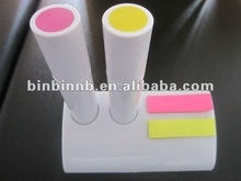 OEM HI-03 highlighter pen with sticky note