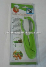 miracle peeler! 2 vegetable peelers! good assistance for kitchen