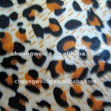 2012 fashion Leopard grain printing fabric for table cloth bag