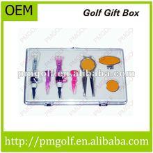 Custom Made Golf Ball Marker Golf Gift Box