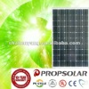 TUV standard 250w mono crystalline silicon PV solar module panel for home electricity