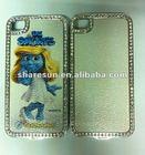 diamond-studded mobile phone case for girls