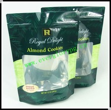 Stand Up Aluminum Foil 12 OZ Cookie Packaging Bag