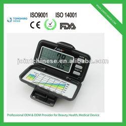 Hot new 3d g-sensor multi-functional large LCD display display cheap pedometer calorie counter equipment