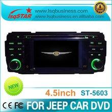 "4.5"" Jeep Liberty CAR DVD players 3D menu GPS/Bluetooth/TV/DVD/Radio/USB/ipod/touch screen"