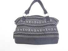 2012 Women handbag/ladies handbag/fairisle handbag