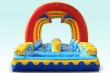 inflatable water slide, giant slide,single lane slide with slip