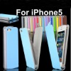 leather flip cover for iphone 5
