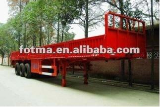 CLW9400 3 axles low sideboard van trailer