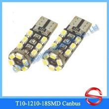 2012 The Best T10 1210 18SMD Canbus Auto Cree Led Bulbs