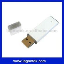 high speed metal white usb flash drive