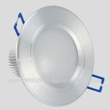 new!!! High Power LED Down light 3w aluminum shell 120degree