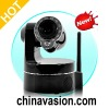 Wireless IP Camera with Smartphone PTZ Control and Night Vision