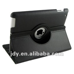 The New for iPad 3 3rd Smart Magnetic Leather Rotating Case Cover for iPad with 360 Stand