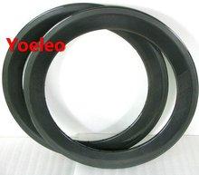 Cheap 20 Inch UD Carbon Rims Clincher 50mm for BMX Bike 3K/12K/UD