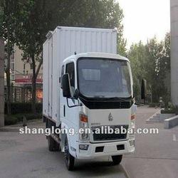 China Manufacturer Siinotruck 4 ton HOWO 4x2 Mini Cargo Van