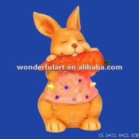 rabbit ceramic easter decorations church