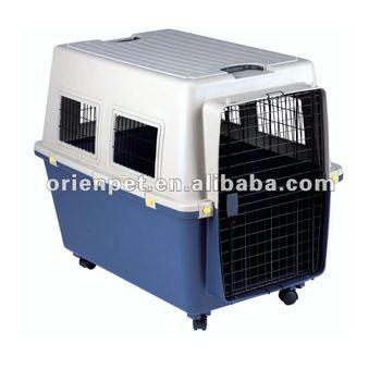 plastic pet dog carrier