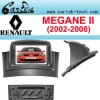 Renault megane 2 Car Radio Support 3G Internet (2002-2008)