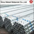 diverse dimensioni di tubo di ferro zincato
