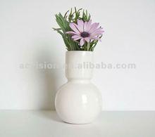 silver ceramic porcelain flower vase,home decorate ceramic porcelain flowers vase,art and craft china flower vase manufacturer
