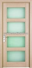 European Style Wood Glass Door Design- For Bathroom or Kitchen