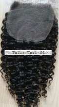 2012 hot selling,12''-24'' 4x4,color1,YuanHaiBo malaysian human hair,water wave,lace closure top piece
