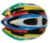 Colorized bicycle sport helmet CE approved