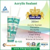 Water Based Acrylic Sealant,Acrylic Paint Sealant
