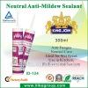 Anti-mildew Bathroom Use Sanitary Fast Curing Silicone Sealants(REACH,SGS)