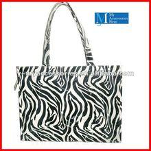 wholesale zebra print shopping bags