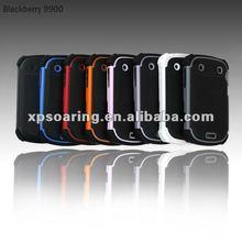plastic+silicon case for blackberry bold 9900,9930