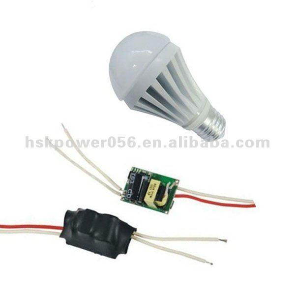 3w bulbs waterproof electronic led driver