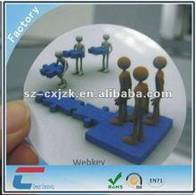 2012 Hot sales round 3D lenticular cards