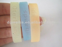 2012 new promotional products-silicone jelly bracelet&wristband