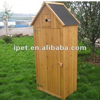 Large Cheap Outdoor Wooden Garden Storage Cabinet