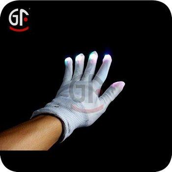 Latest Handmaking Gift Light Up Gloves